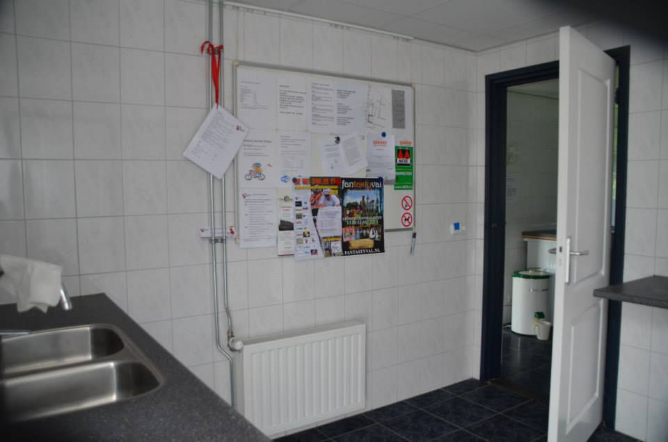 Informatie bord sanitair